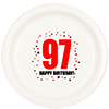 97TH BIRTHDAY DINNER PLATE 8-PKG PARTY SUPPLIES