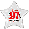 97TH BIRTHDAY STAR BALLOON PARTY SUPPLIES