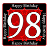 98TH BIRTHDAY COASTER PARTY SUPPLIES