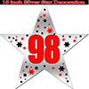 98TH SILVER STAR DECORATION PARTY SUPPLIES