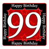 99TH BIRTHDAY COASTER PARTY SUPPLIES