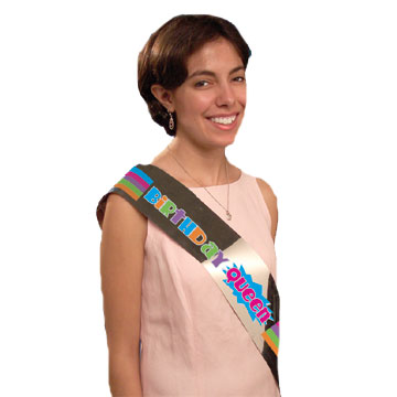 BULK BIRTHDAY FAVOR SASHES