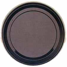 Click for larger picture of BLACK FLAT PLATTER (16