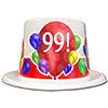 99TH BIRTHDAY BALLOON BLAST TOP HAT PARTY SUPPLIES