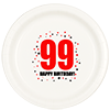 99TH BIRTHDAY DINNER PLATE 8-PKG PARTY SUPPLIES