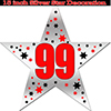99TH SILVER STAR DECORATION PARTY SUPPLIES