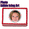 9TH BIRTHDAY PHOTO EDIBLE ICING ART PARTY SUPPLIES