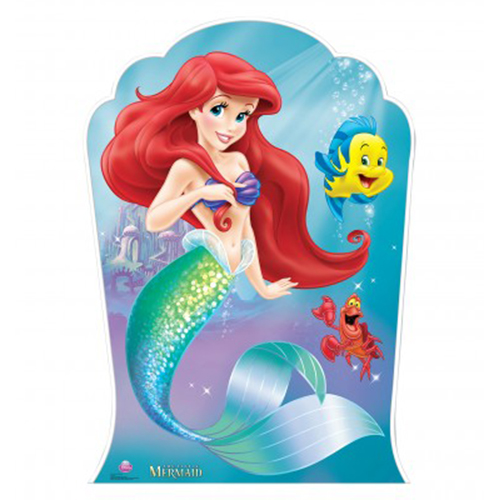 LITTLE MERMAID AND FRIENDS STANDUP PARTY SUPPLIES