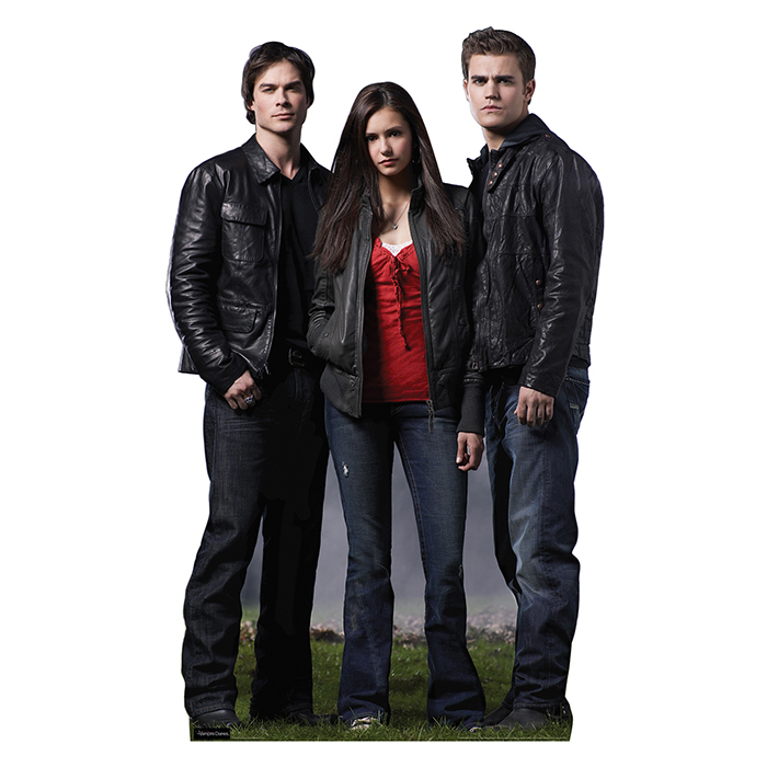 Click for larger picture of ELENA GILBERT, STEFAN AND DAMON-TVD PARTY SUPPLIES
