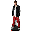 DISCONTINUED JUSTIN BIEBER STANDUP PARTY SUPPLIES