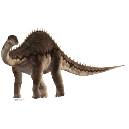 Click for larger picture of DIPLODOCUS DINOSAUR LIFE SIZE STANDUP PARTY SUPPLIES