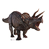 TRICERATOPS LIFE SIZE STANDUP PARTY SUPPLIES