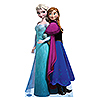ELSA AND ANNA - DISNEY'S FROZEN STANDUP PARTY SUPPLIES
