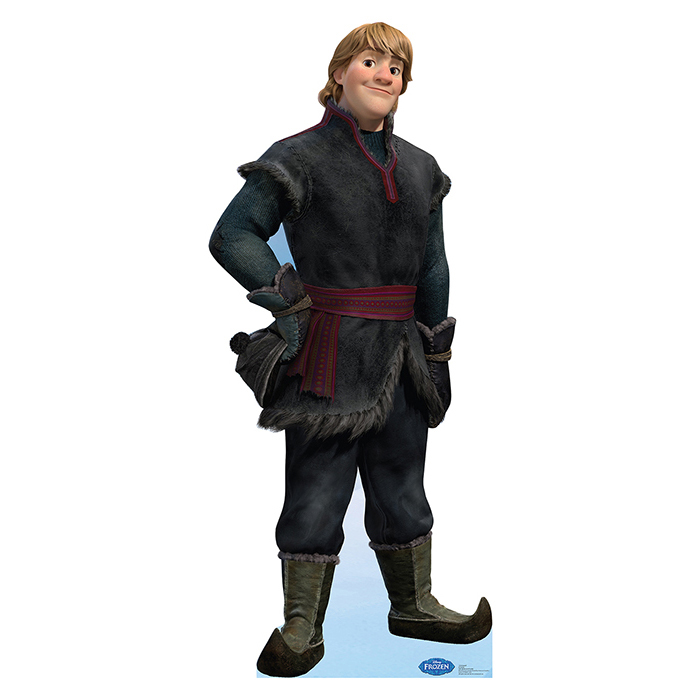 Click for larger picture of KRISTOFF - DISNEY'S FROZEN STANDUP PARTY SUPPLIES