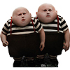TWEEDLE DEE / DUM  LIFE SIZE STANDUP PARTY SUPPLIES