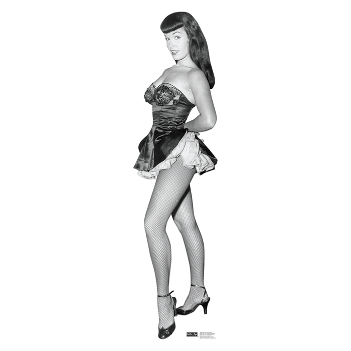 BETTIE PAGE - FISH NET NYLONS PARTY SUPPLIES