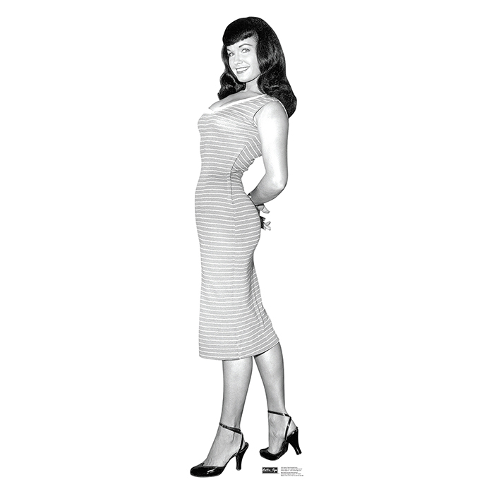 BETTIE PAGE - STRIPED DRESS PARTY SUPPLIES