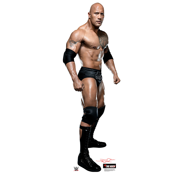 THE ROCK - WWE PARTY SUPPLIES