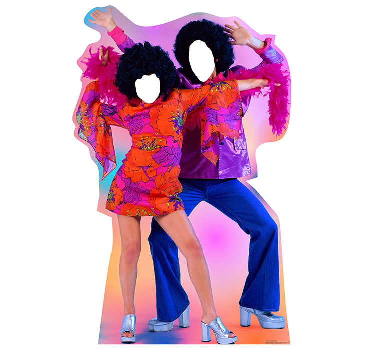 70'S DANCE COUPLE STANDIN PARTY SUPPLIES