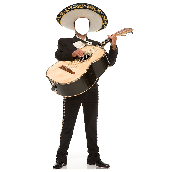 MARIACHI GUITARRON STANDIN PARTY SUPPLIES