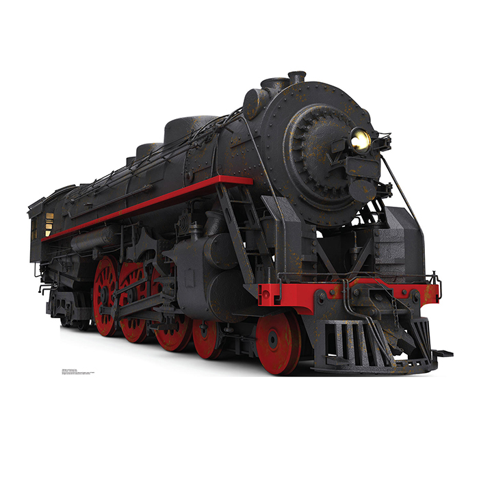 BLACK AND RED STEAM TRAIN PARTY SUPPLIES
