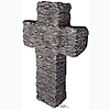 GRANITE STONE TOMBSTONE LIFESIZE STANDUP PARTY SUPPLIES
