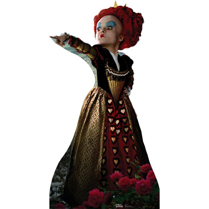 Click for larger picture of RED QUEEN LIFE SIZE STANDUP PARTY SUPPLIES