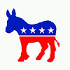 DEMOCRATIC DONKEY LIFESIZE STANDUP PARTY SUPPLIES