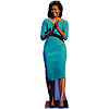 FIRST LADY MICHELLE OBAMA STANDUP PARTY SUPPLIES