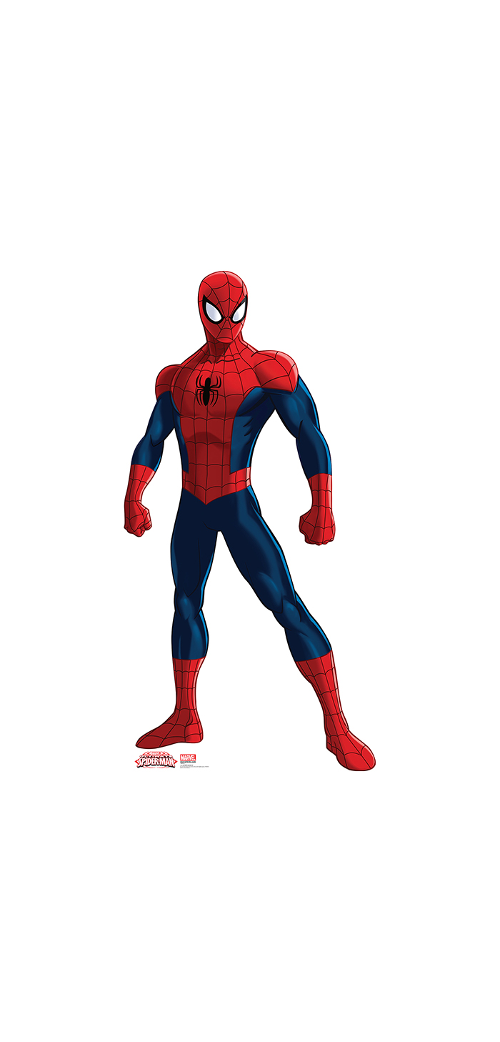 ULTIMATE SPIDERMAN LIFESIZE STANDUP PARTY SUPPLIES