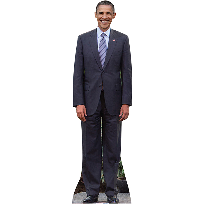 PRESIDENT OBAMA LIFESIZE STANDUP PARTY SUPPLIES