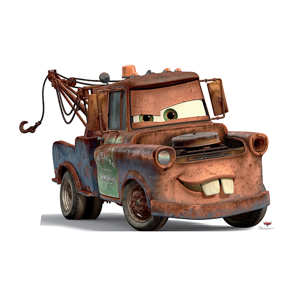 MATER - TOW TRUCK STANDUP PARTY SUPPLIES