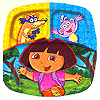 DORA THE EXPLORER POCKET PLATE  (48/CS) PARTY SUPPLIES