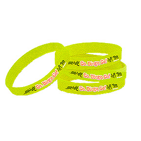 Click for larger picture of DISCONTINUED GO DIEGO GO RUBBER BRACELET PARTY SUPPLIES