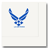 AIR FORCE BEVERAGE NAPKIN  16/PKG PARTY SUPPLIES