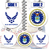 AIR FORCE COMBO DANGLER PARTY SUPPLIES