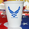 AIR FORCE CUP  8/PKG PARTY SUPPLIES