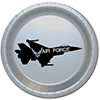 AIR FORCE JET DESSERT PLATE PARTY SUPPLIES