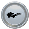 AIR FORCE JET DINNER PLATE 8/PKG PARTY SUPPLIES