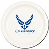 AIR FORCE DESSERT PLATE (8/PKG) PARTY SUPPLIES