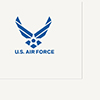 AIR FORCE LUNCHEON NAPKIN (16/PKG) PARTY SUPPLIES