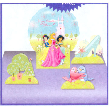 Click for larger picture of DISCONTINUED  PRINCESS AIR CENTERPIECE PARTY SUPPLIES
