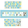 MICKEY 1ST BIRTHDAY GIANT BANNER PARTY SUPPLIES