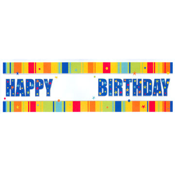 Click for larger picture of ADD AN AGE GIANT SIGN BANNER PARTY SUPPLIES
