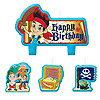 DISCONTINUED JAKE NL PIRATE CANDLE SET PARTY SUPPLIES