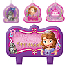 SOFIA THE FIRST CANDLE DECORATING SET PARTY SUPPLIES