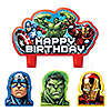 AVENGERS CANDLE SET PARTY SUPPLIES