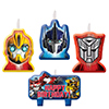 TRANSFORMERS CANDLE SET PARTY SUPPLIES