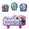 FROZEN BIRTHDAY CANDLE SET 4/PKG PARTY SUPPLIES