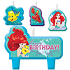 ARIEL DREAM CANDLE SET PARTY SUPPLIES